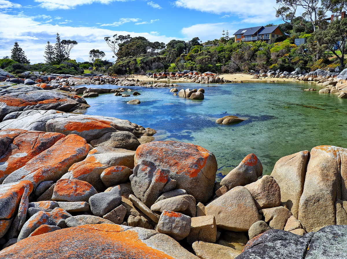 Binalong Bay, Tasmania, Australia